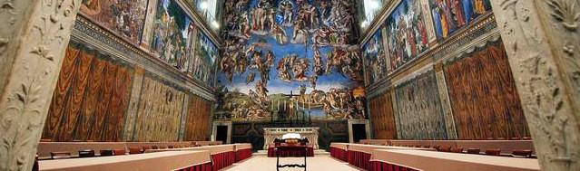 nuova aria nella Cappella Sistina