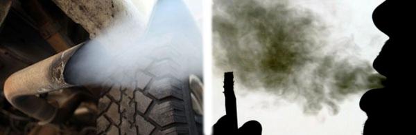 tir contro sigaretta