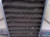 filtro dell\'aria sporco e degradato